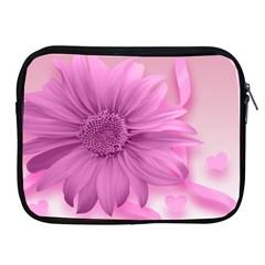 Flower Design Romantic Apple Ipad 2/3/4 Zipper Cases by Sapixe