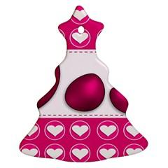 Love Celebration Easter Hearts Ornament (christmas Tree)