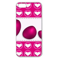 Love Celebration Easter Hearts Apple Seamless Iphone 5 Case (clear)