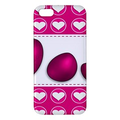 Love Celebration Easter Hearts Apple Iphone 5 Premium Hardshell Case