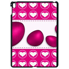 Love Celebration Easter Hearts Apple Ipad Pro 9 7   Black Seamless Case by Sapixe