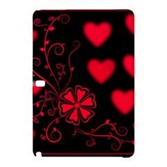 Background Hearts Ornament Romantic Samsung Galaxy Tab Pro 12 2 Hardshell Case