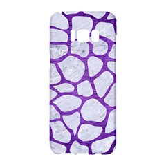 Skin1 White Marble & Purple Brushed Metal Samsung Galaxy S8 Hardshell Case