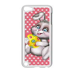 Illustration Rabbit Easter Apple Ipod Touch 5 Case (white) by Sapixe
