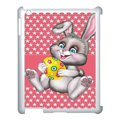 Illustration Rabbit Easter Apple Ipad 3/4 Case (white) by Sapixe