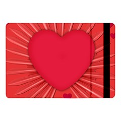 Background Texture Heart Love Apple Ipad Pro 10 5   Flip Case