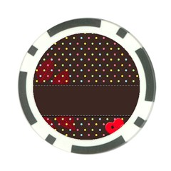 Design Background Reason Texture Poker Chip Card Guard (10 Pack)