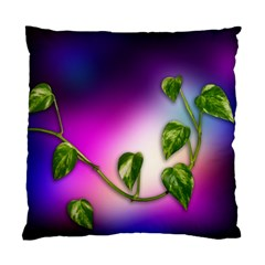 Leaves Green Leaves Background Standard Cushion Case (two Sides) by Sapixe