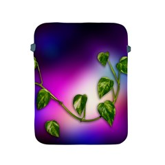 Leaves Green Leaves Background Apple Ipad 2/3/4 Protective Soft Cases by Sapixe