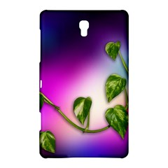 Leaves Green Leaves Background Samsung Galaxy Tab S (8 4 ) Hardshell Case