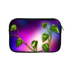 Leaves Green Leaves Background Apple Macbook Pro 13  Zipper Case