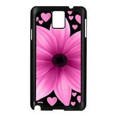 Flower Plant Floral Petal Nature Samsung Galaxy Note 3 N9005 Case (black)