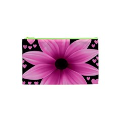 Flower Plant Floral Petal Nature Cosmetic Bag (xs)