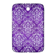 Damask1 White Marble & Purple Brushed Metal Samsung Galaxy Note 8 0 N5100 Hardshell Case