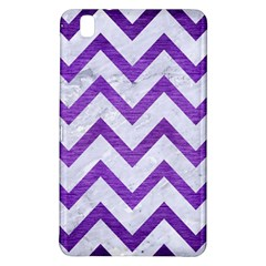 Chevron9 White Marble & Purple Brushed Metal (r) Samsung Galaxy Tab Pro 8 4 Hardshell Case