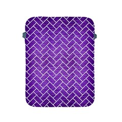 Brick2 White Marble & Purple Brushed Metal Apple Ipad 2/3/4 Protective Soft Cases