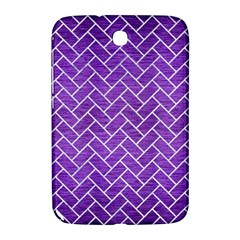 Brick2 White Marble & Purple Brushed Metal Samsung Galaxy Note 8 0 N5100 Hardshell Case