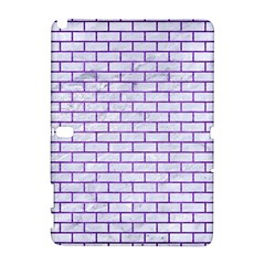 Brick1 White Marble & Purple Brushed Metal (r) Galaxy Note 1