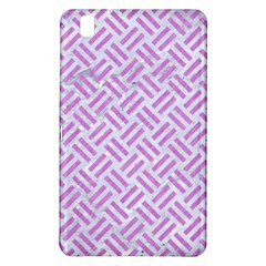 Woven2 White Marble & Purple Colored Pencil (r) Samsung Galaxy Tab Pro 8 4 Hardshell Case