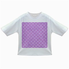 Woven2 White Marble & Purple Colored Pencil Infant/toddler T Shirts