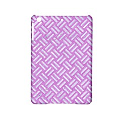 Woven2 White Marble & Purple Colored Pencil Ipad Mini 2 Hardshell Cases