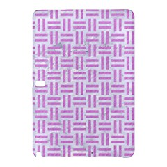 Woven1 White Marble & Purple Colored Pencil (r) Samsung Galaxy Tab Pro 10 1 Hardshell Case