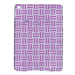 Woven1 White Marble & Purple Colored Pencil (r) Ipad Air 2 Hardshell Cases
