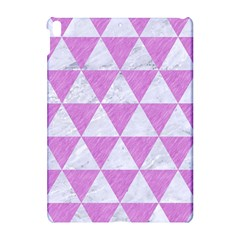 Triangle3 White Marble & Purple Colored Pencil Apple Ipad Pro 10 5   Hardshell Case