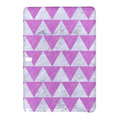 Triangle2 White Marble & Purple Colored Pencil Samsung Galaxy Tab Pro 12 2 Hardshell Case