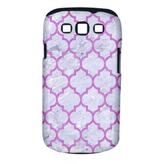 Tile1 White Marble & Purple Colored Pencil (r) Samsung Galaxy S Iii Classic Hardshell Case (pc+silicone)