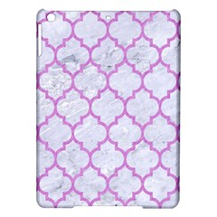 Tile1 White Marble & Purple Colored Pencil (r) Ipad Air Hardshell Cases
