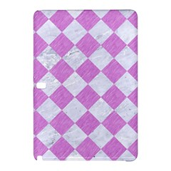 Square2 White Marble & Purple Colored Pencil Samsung Galaxy Tab Pro 10 1 Hardshell Case