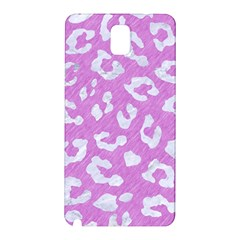 Skin5 White Marble & Purple Colored Pencil (r) Samsung Galaxy Note 3 N9005 Hardshell Back Case