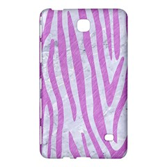 Skin4 White Marble & Purple Colored Pencil Samsung Galaxy Tab 4 (8 ) Hardshell Case  by trendistuff