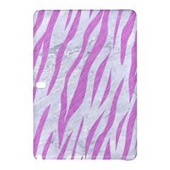Skin3 White Marble & Purple Colored Pencil (r) Samsung Galaxy Tab Pro 12 2 Hardshell Case