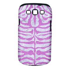 Skin2 White Marble & Purple Colored Pencil (r) Samsung Galaxy S Iii Classic Hardshell Case (pc+silicone)