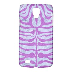Skin2 White Marble & Purple Colored Pencil (r) Galaxy S4 Active