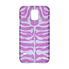 Skin2 White Marble & Purple Colored Pencil Samsung Galaxy S5 Hardshell Case  by trendistuff