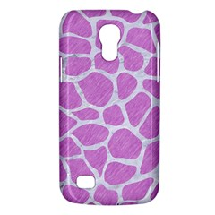 Skin1 White Marble & Purple Colored Pencil (r) Galaxy S4 Mini