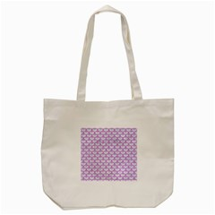 Scales3 White Marble & Purple Colored Pencil (r) Tote Bag (cream) by trendistuff