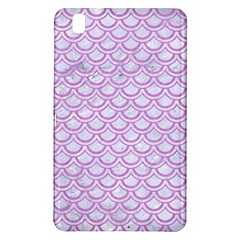 Scales2 White Marble & Purple Colored Pencil (r) Samsung Galaxy Tab Pro 8 4 Hardshell Case