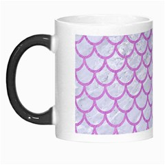 Scales1 White Marble & Purple Colored Pencil (r) Morph Mugs
