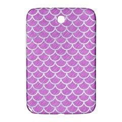 Scales1 White Marble & Purple Colored Pencil Samsung Galaxy Note 8 0 N5100 Hardshell Case