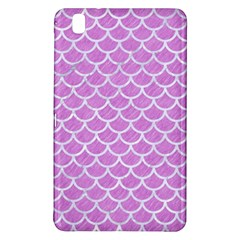 Scales1 White Marble & Purple Colored Pencil Samsung Galaxy Tab Pro 8 4 Hardshell Case