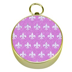 Royal1 White Marble & Purple Colored Pencil (r) Gold Compasses by trendistuff