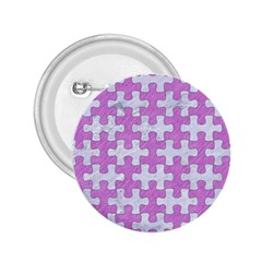 Puzzle1 White Marble & Purple Colored Pencil 2 25  Buttons