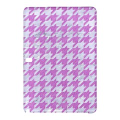 Houndstooth1 White Marble & Purple Colored Pencil Samsung Galaxy Tab Pro 10 1 Hardshell Case