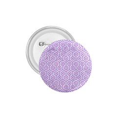 Hexagon1 White Marble & Purple Colored Pencil (r) 1 75  Buttons