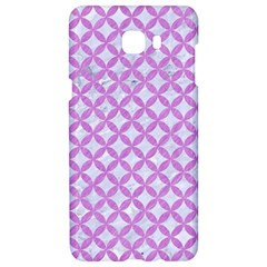 Circles3 White Marble & Purple Colored Pencil (r) Samsung C9 Pro Hardshell Case