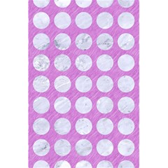 Circles1 White Marble & Purple Colored Pencil 5 5  X 8 5  Notebooks by trendistuff